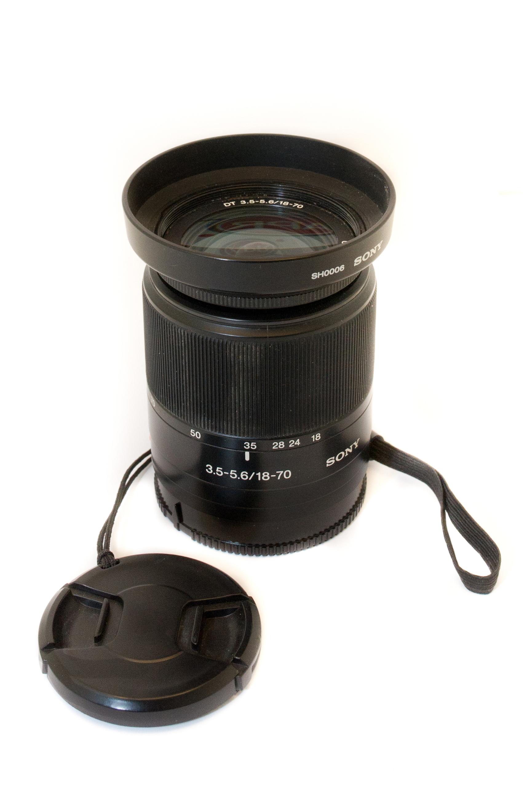 DV Sony 18-70